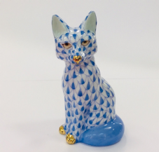 Herend Porcelain Figurine of Young Sitting Fox